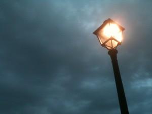 クラウディな空の灯?