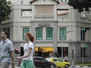 シンガポールの街角